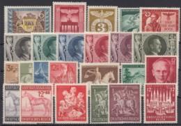 Aus 828/63, 13 Komplette Ausgaben Aus 1943, ** - Deutschland