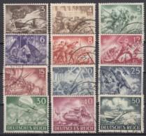 """831/42 """"Wehrmacht"""", 1943, Komplett, Alle Sauber Gestempelt - Deutschland"""