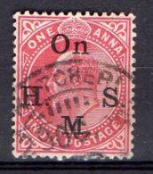 INDE ( SERVICE ) : Y&T  N° 41  TIMBRE  BIEN  OBLITERE . - 1858-79 Crown Colony