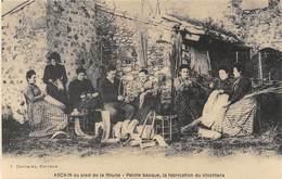 Ascain Au Pied De La Rhune - Pelote Basque, La Fabrication Du Chichtera - Cecodi N'908 - Ascain