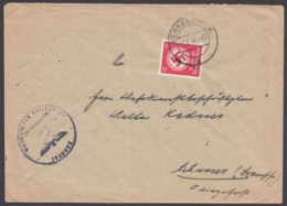 """172, EF Auf Brief """"Bersenbrück"""", 27.6.44 - Dienstpost"""