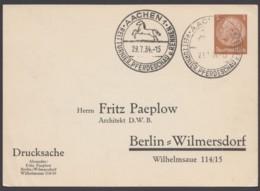 "PP 122 B 4/06, Sst. ""Aachen-Pferdeschau"", 29.7.34 - Deutschland"