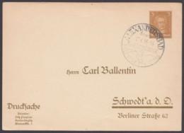 "PP 97 B 6/25, Sst ""Alexandersbad/Fichtelgebirge"", 17.6.33 - Deutschland"
