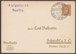 "PP 97 B 6/25, Sst ""Bad Aibling, Alpenmoorbad"", 28.7.33 - Deutschland"