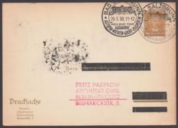 """PP 97 B 6, Sst """"Bad Salzbrunn"""", 29.5.30, Anschrift überbalkt - Deutschland"""