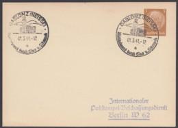 """PP 122 A 1/03, Sst """"Gablonz, Glas Und Schmuck"""", 1.3.41 - Deutschland"""