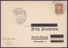 """PP 97 B 6 , Sst. """"Köln, Wirtschaftsausstellung"""", 31.5.30, Anschrift überbalkt - Deutschland"""