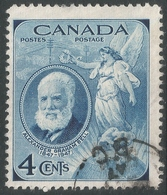 Canada. 1947 Birth Centenary Of Bell. 4c Used. SG 408 - 1937-1952 Reign Of George VI