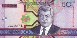 Turkmenistan 50 Manat, P-17 (2005) - UNC - Turkmenistan