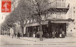PARIS XX : Place Martin - Nadaud ; Café De L'Etoile D'or . - Arrondissement: 20
