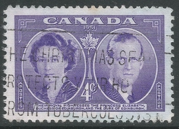 Canada. 1951 Royal Visit. 4c Used. SG 440 - 1937-1952 Reign Of George VI