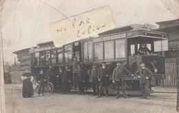 PARIS - Tramway N° 39 Au Départ De La Porte De Vincennes , Le Terminus étant La Porte De Saint Cloud ( Carte-photo ) - Nahverkehr, Oberirdisch