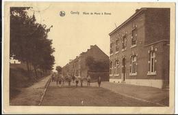 GENLY - Route De Mons à Bavay (Quevy - Frameries) 1939 - Quévy