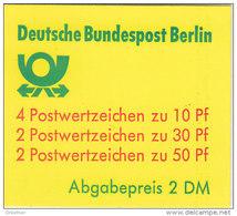 BERLIN Markenheftchen 11 F OZ, Gestempelt, Burgen Und Schlösser 1980 - [5] Berlino