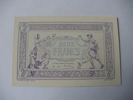 2 F TRESORERIE AUX ARMEES TYPE 1919 EPREUVE NEUVE - Treasury