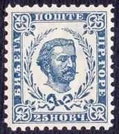 MONTENEGRO - CRNA GORA - FUERST NIKOLA I - With Wz/Wmk  A - Perf 10½   -**MNH  -1898 - RARE - Montenegro
