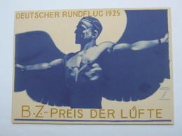 1925, Propagandakarte Flugpost , Signiert Hohlwein - Deutschland