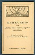 °°° Il Sabato Santo Pag.47 °°° - Religion