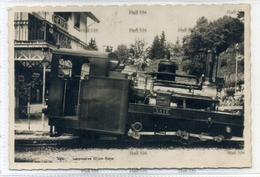 Switzerland Vaud Locomotive Glion Naye No.2851 Postcard Montreaux Edition Art Perochet Matile Lausanne - VD Vaud