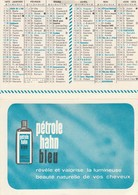 Calendriers : Pétrole Hahn : ( 2 Volets ) 1973 - Calendriers