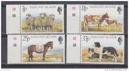 Falkland Islands 1981 Farm Animals 4v (+margin)  ** Mnh (41746) - Falklandeilanden