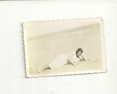 NECOCHEA  SPIAGGIA--  PICCOLA  FOTO  ANNO  1934  FEBRAIO - Argentina