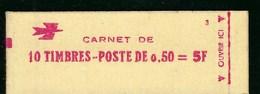 France, Variété, Carnet Marianne De Bequet, 1664 C 1a, Avec Variété Timbres Partiellement Imprimés, Voir Scan TB - Carnets