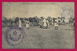 CPA Algérie - Béni Abbès - Départ D'un Convoi - Algérie