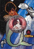 CPM Sirène Jihel Tirage Signé 30 Exemplaires Numérotés Signés Mermaid ALBI 1989 - Fairy Tales, Popular Stories & Legends
