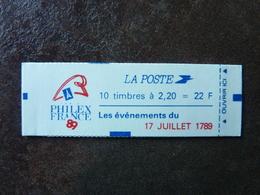 1989 Marianne De Delacroix 2,20F Rouge PHILEXFRANCE 89 = 2376-C12 (17 Juillet 1789) ** MNH - Usage Courant