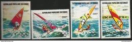 Congo - 1983 Olympics Windsurfing Set Of 4 MNH **   Sc C305-8 - Congo - Brazzaville