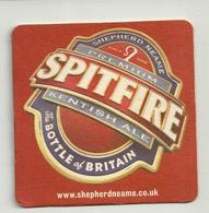 BIRRA--SOTTOBICCHIERE    SPITFIRE   BOTTLE   BRITAIN - Cartoline