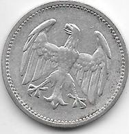 *germany  Weimar 1 Mark 1924 A Km 42  Vf - [ 3] 1918-1933 : Weimar Republic