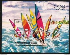 Congo - 1983 Olympics Windsurfing S/sheet MNH **   Sc C309 - Congo - Brazzaville