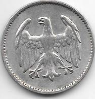 *germany  Weimar 1 Mark 1924 F Km 42  Vf - [ 3] 1918-1933 : Weimar Republic