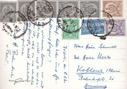 LIBYE 1960 CARTE POSTALE DE TRIPOLI - Libye