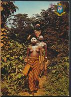 °°° 13130 - COTE D'IVOIRE - ENVIRONS DE MAN - 1972 With Stamps °°° - Costa D'Avorio