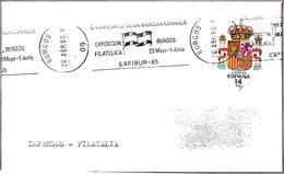 II CENTENARIO DE LA BANDERA ESPAÑOLA - II Cent. Of Spanish Flag. Burgos 1985 - Briefe