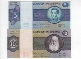 B19 - BRESIL Lot De 2 Billets - Brésil