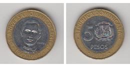 REPUBLIQUE DOMINICAINE - 5 PESOS - 1947-1997 - Dominicaine