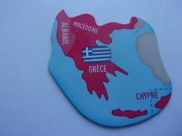 Magnet Savane Brossard  Albanie Grèce Macédoine Europe - Tourisme