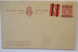 Großbritannien Ganzsache King George School Specimen  (19305) - Grossbritannien