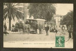 CP-SANARY-VAR - Omnibus Faisant Le Service De La Gare - Sanary-sur-Mer
