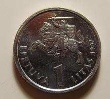 Lithuania 1 Litas 1997 Varnished - Lituanie