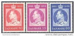 DENEMARKEN1959 60e Verjaardag Koning Frederik IX PF-MNH-NEUF - Danemark