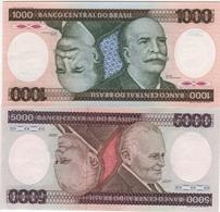 B21 - BRESIL Lot De 2 Billets - Brésil
