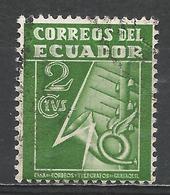 Ecuador 1934. Scott #RA29 (U) Tax Stamp ** - Equateur