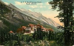 Pays Div -ref P706- Canada - C P R Banff Springs Hotel - Banff Alberta  - - Banff