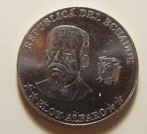 Ecuador 50 Centavos 2000 Varnished - Ecuador