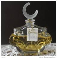 TRES JOLI FLACON ANCIEN POUR LE PARFUM    FIGENE    AUBE NOUVELLE     Bouchon Emeri - Parfum (neuf Sous Emballage)